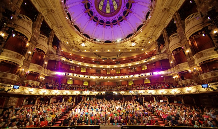 BBC Sing Hallelujah event at London  Coliseum