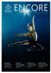 Encore_TheRoyalBalletSchool_Magazine_Jan2013_FrontPage