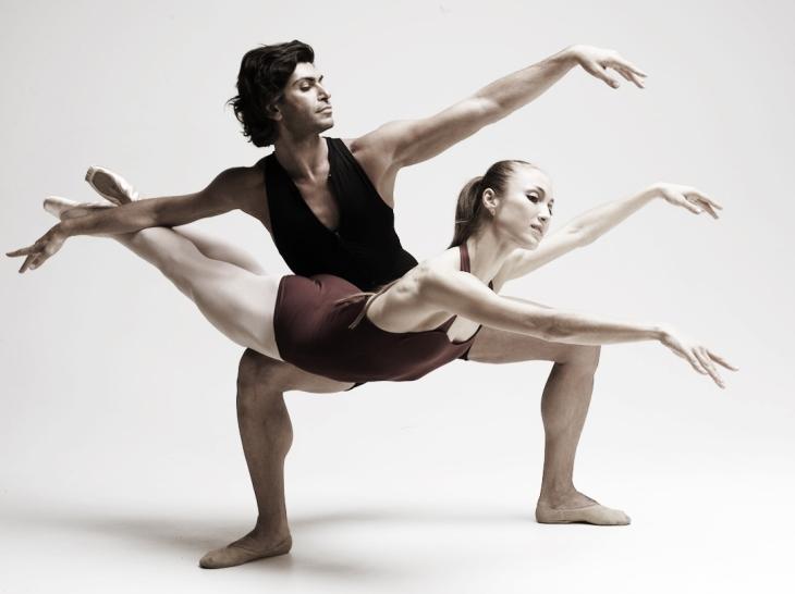 Vincent Perez Bolshoi Photo Project - dancers  Tsiskaridze and Shipulina