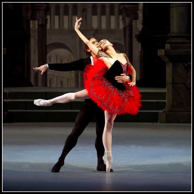 Natalia Osipova and Ivan Vasiliev in Don Quixote © The Mikhailovsky Theatre