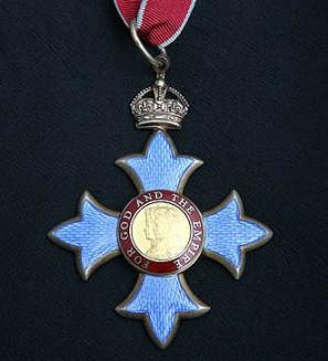 CBE medal