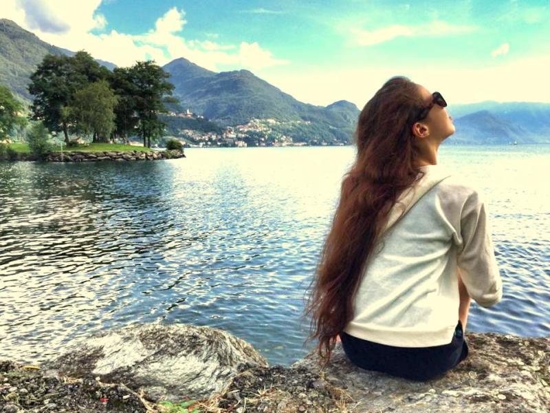 Beautiful views - Lago di Como, August 2014