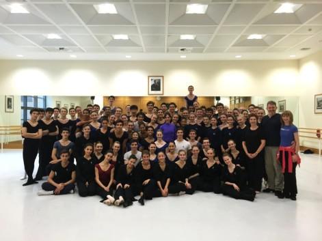 Cynthia Harvey at The Royal Ballet Upper School
